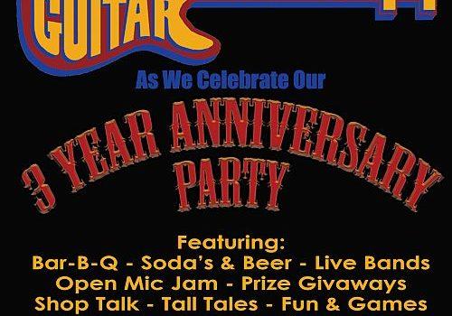Three Year Anniversary Party!