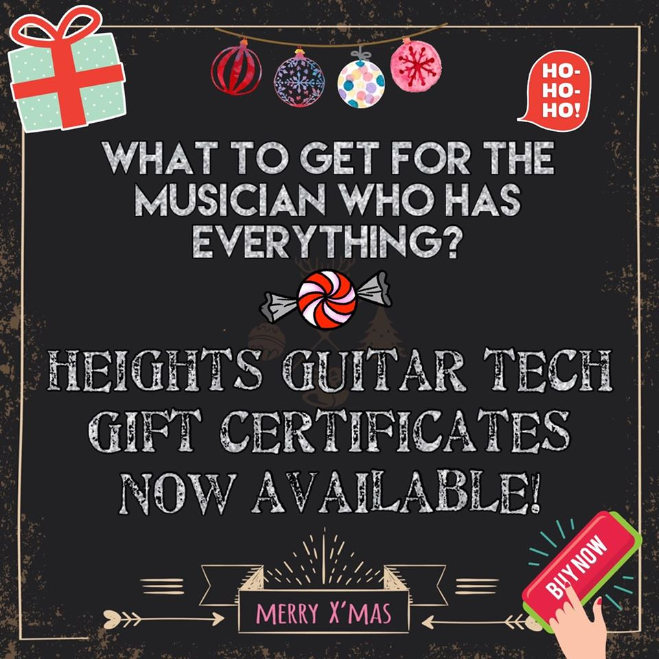 heights guitar tech gift certificates